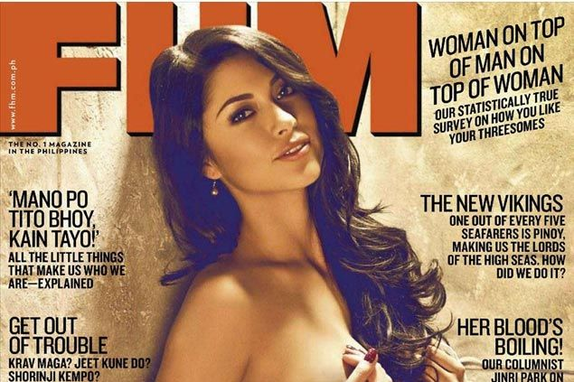 Fil-Am FHM cover girl Arianny Celeste to be 'Octagon Girl' for Manila UFC fight card