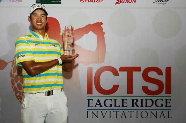 Arie Irawan of Malaysia beats top local bet Miguel Tabuena by four to win at Eagle Ridge for second ADT title