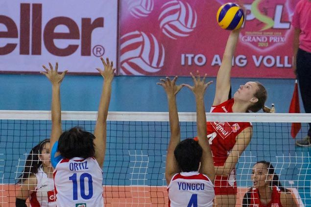 Cignal gains share of Super Liga lead, secures spot in semifinals with victory over lowly RC Cola