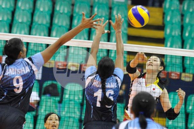 Japan waltzes past India and into semifinals of Asian U23 Women's Volleyball Championship