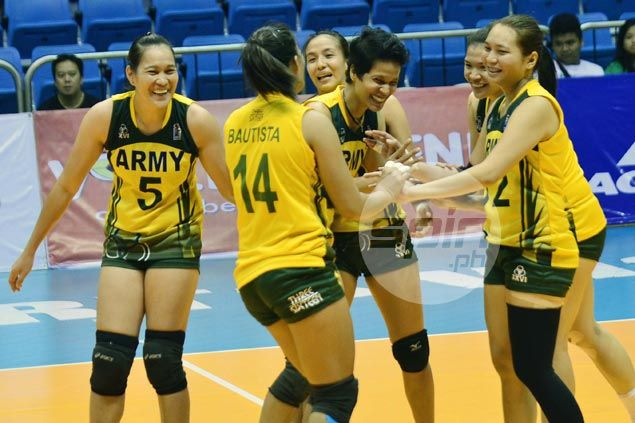 Army enters V-League title series undefeated after downing Navy in semifinals