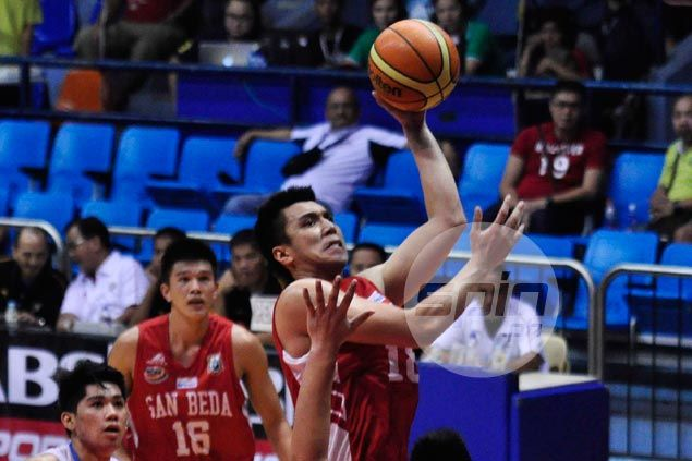 San Beda handily beats EAC for second win in as many games in NCAA Season 91