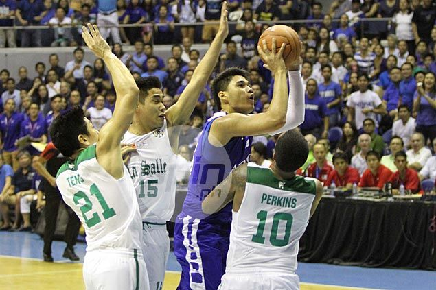 Rookie Arvin Tolentino understands huge task at hand for undersized Ateneo against Bulldogs