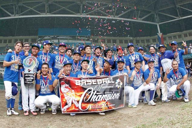 Ateneo completes sweep of La Salle in finals to score third straight UAAP baseball title