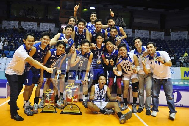 Ateneo edges NU in four to complete 13-match sweep of Spikers Turf Collegiate Conference