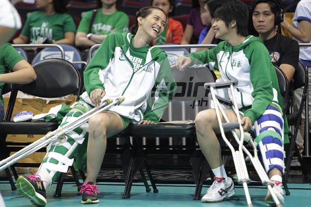 La Salle's Ara Galang wants to recover fully from knee injury before thinking of comeback
