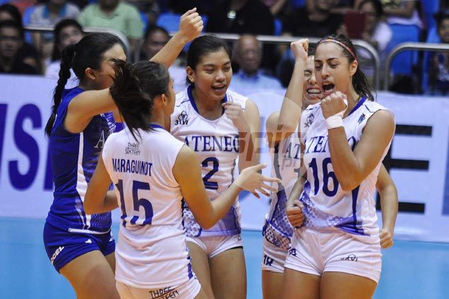 Maraguinot shows way anew, Valdez makes early return as Ateneo crushes San Sebastian
