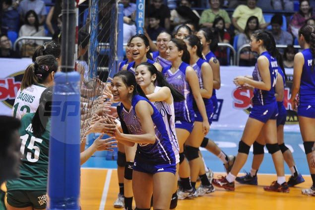UAAP grudge match between Lady Eagles, La Salle Spikers won't happen until next year. Find out when