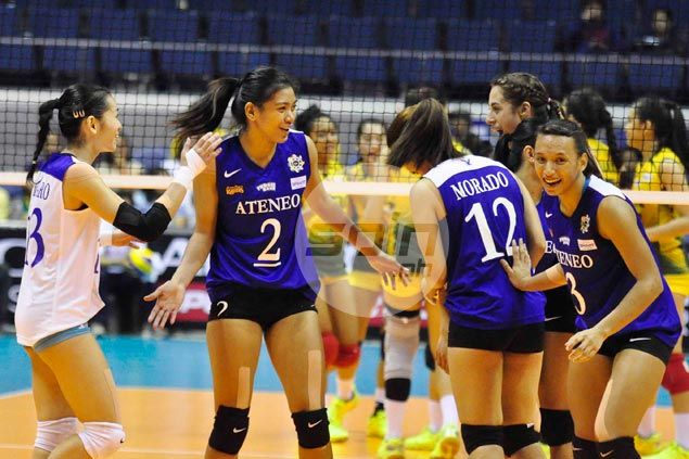 Ateneo takes solo lead in UAAP volley with straight-sets win over Far Eastern University