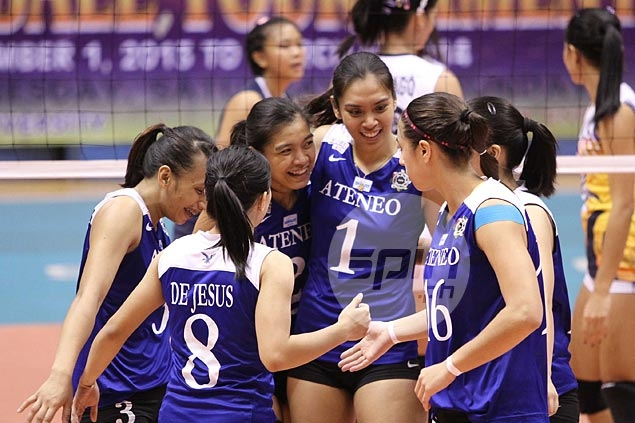 De Jesus comes up huge as Lady Eagles tame Lady Bulldogs to keep ...