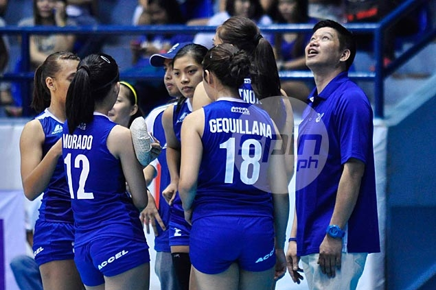 Indonesian national squad recovers from a set down to defeat Ateneo Lady Eagles