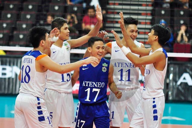 Ateneo back in finals after four-set win over Adamson; NU forces semis decider against UST in UAAP men's volley