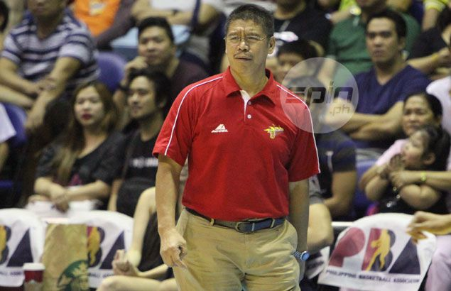 San Miguel dearly pays for decision to engage Talk `N Text in shootout, says coach Leo Austria