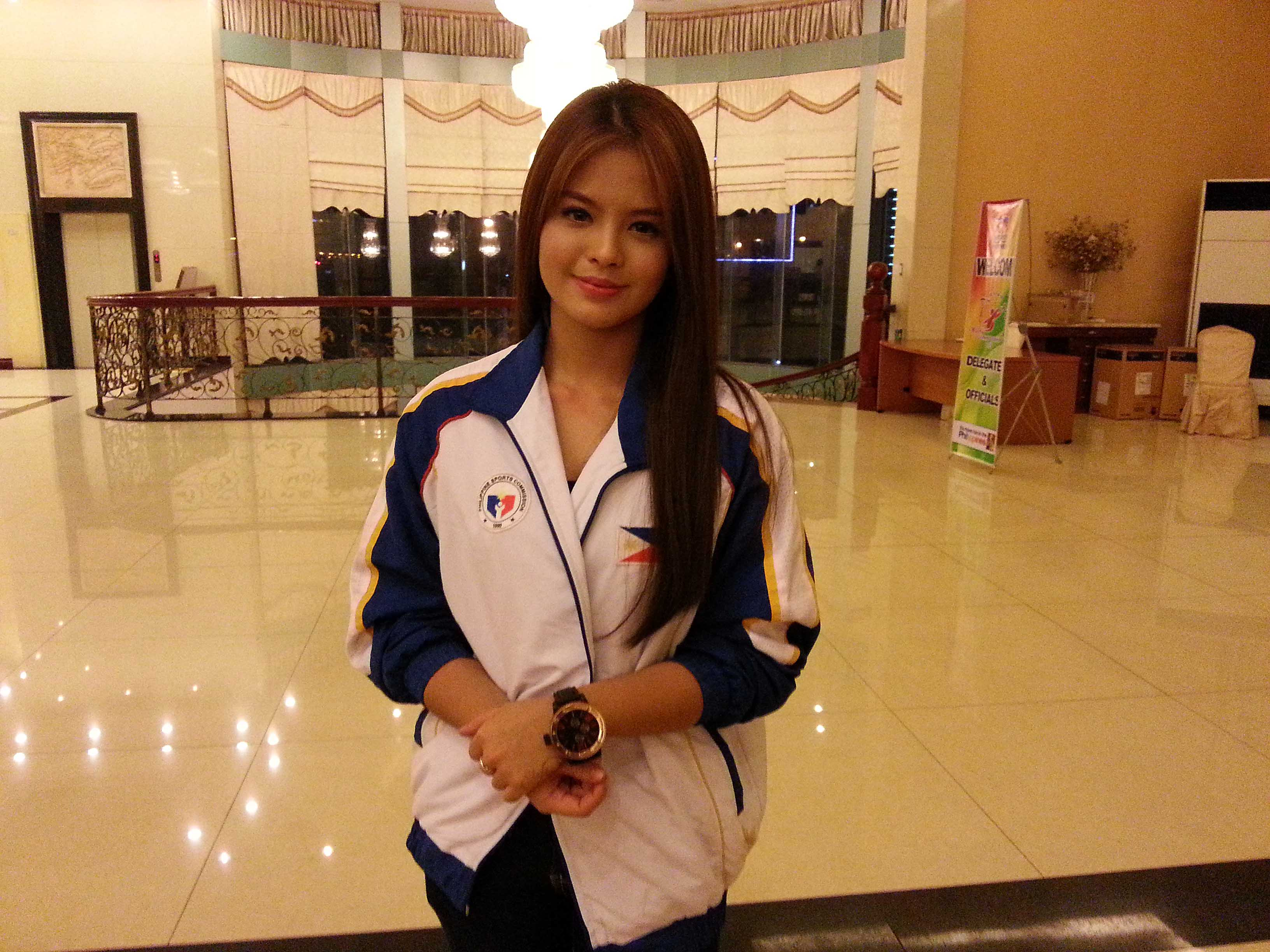 Teen actress Bea Binenehopes to be good enough to make national wushu team one day