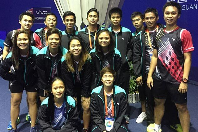 Philippines tops Group Four of Sudirman Cup badminton tournament in China