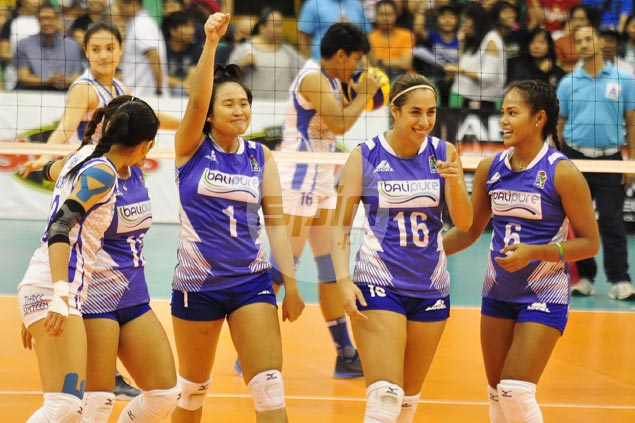 Janine Marciano shines as Bali Pure edges Laoag in opener of battle for third place in V-League
