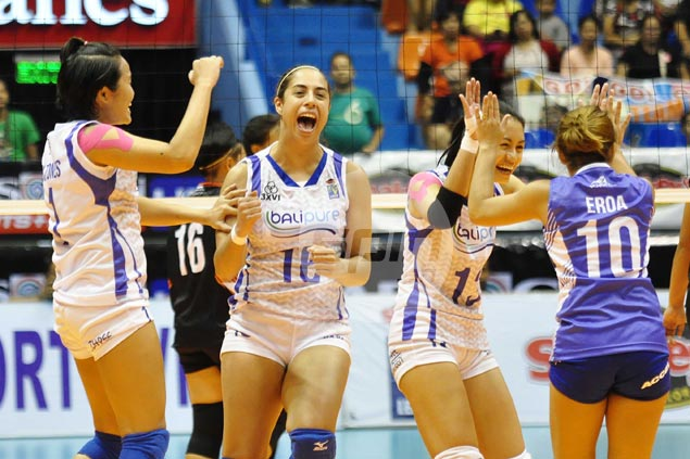 Bali Pure recovers from a set down to beat Iriga for second straight win in V-League