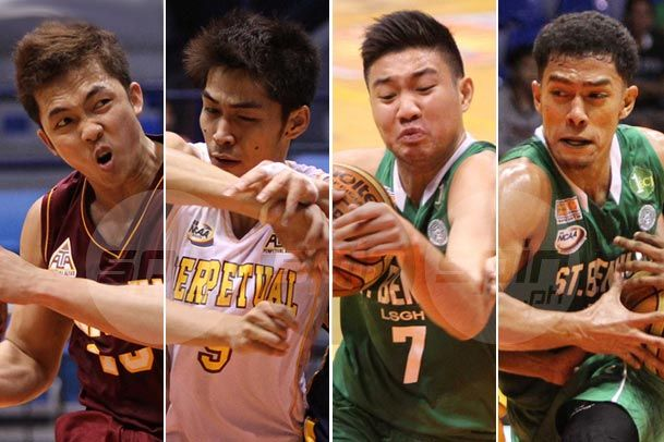 Perpetual Help Altas and St. Benilde Blazers, Final Four contenders led by PBA-bound players, press NCAA bids against separate foes