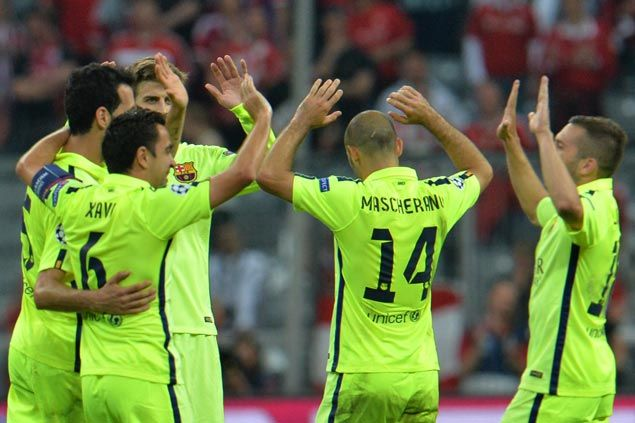 Barcelona downs Bayern Munich to advance to Champions League final for the first time in four years