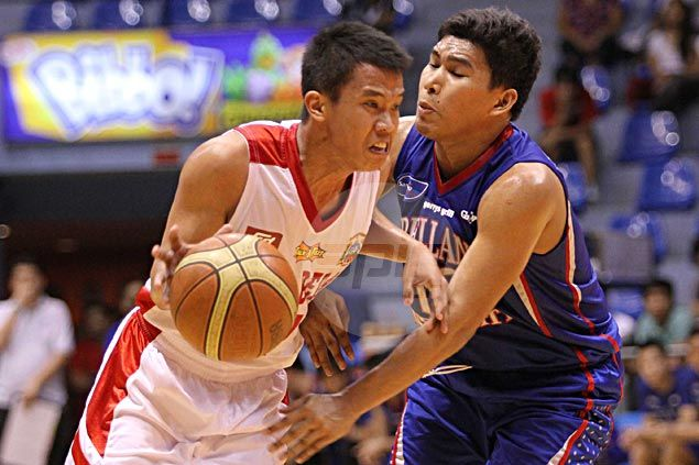 Passerelle teammates in Davao, Amer and Pinto clash in the NCAA as San Beda and Arellano begin title showdown