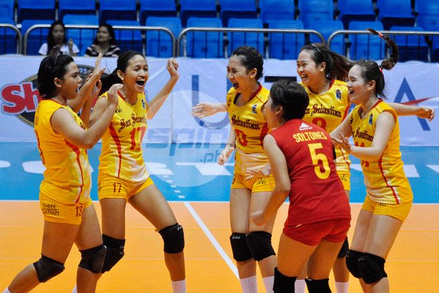San Sebastian snaps two-game skid after trouncing TIP in V-League