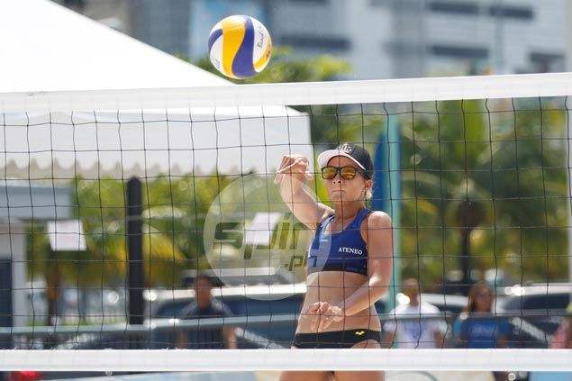 Alyssa Valdez, Bea Tan take top spot in UAAP beach volley with win over Jessica Galanza and Mylene Paat