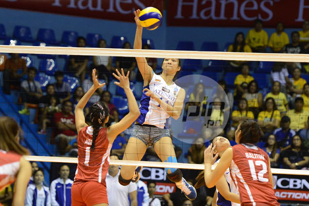 Ateneo Lady Eagles crush UE Lady Warriors to regain lead in UAAP women's volleyball