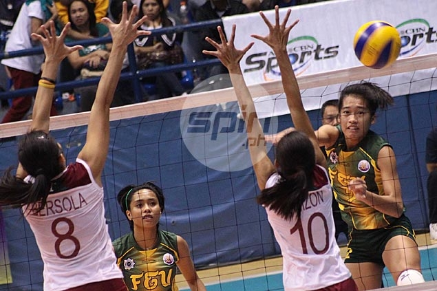 FEU ace spiker Bernadeth Pons looking to level up as player and student in 2015