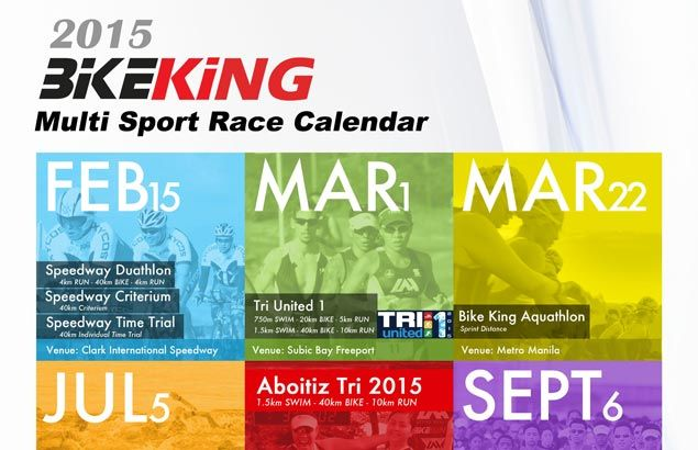 Bike King's packed race calendar to keep multi-sport enthusiasts busy for 2015