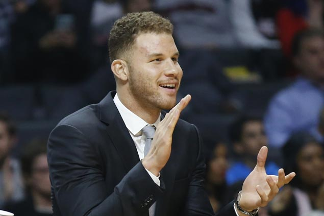 Blake Griffin tweets apology after punching staff member and suffering hand injury