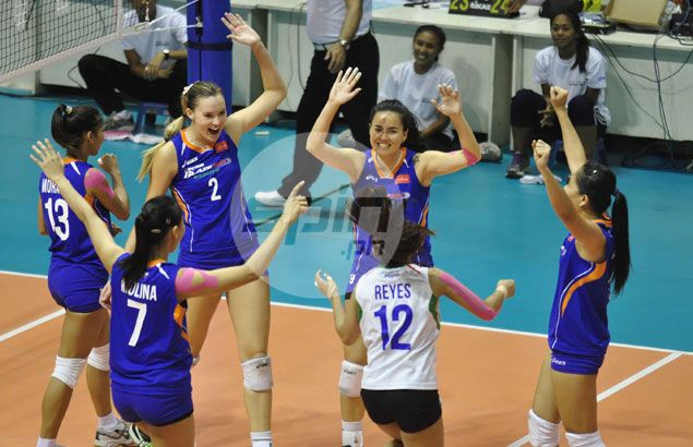 Petron imports make the difference as Blaze Spikers make Super Liga Finals with easy win over Cignal
