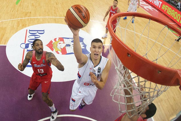 Bogdanovic stars as Serbia crushes Puerto Rico to book first Olympic appearance as an independent country