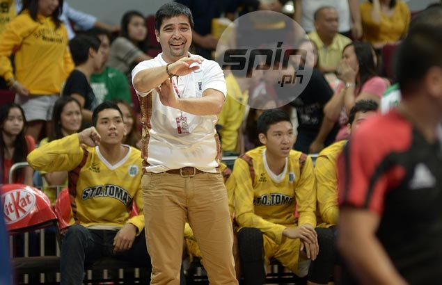 Free throw discrepancy hurts Tigers' chances in crucial match against Archers, says UST coach De la Cruz