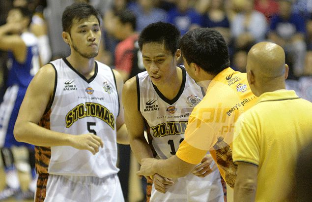 Bong dela Cruz does a Pido Jarencio, says UST needs puso, pride, palaban to stay in Final Four contention