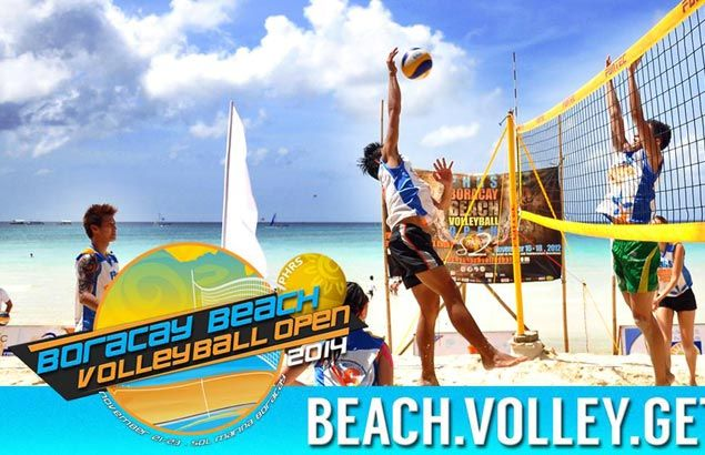 Beach volleyball and Boracay truly made for each other