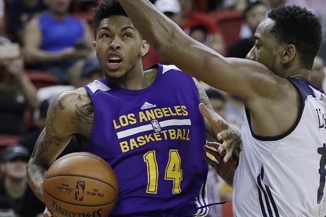 Lakers newcomers Yi Jianlian, Brandon Ingram ready to showcase wares despite bench roles