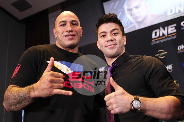 Mark Striegl relishes reunion with fellow Fil-Am fighter Brandon Vera in ONE: Spirit of Champions