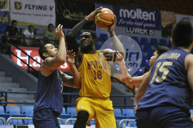 Nigerian import Bright Akhuetie leads way as Perpetual Help downs UAAP champ National U
