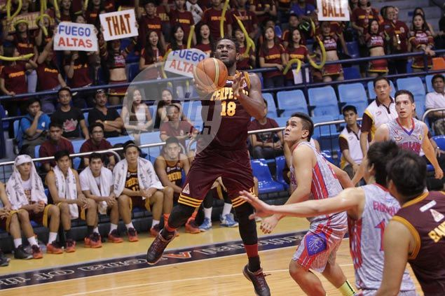 Bright Akhuetie shines as Perpetual Help arrests two-game slide with win over struggling Arellano