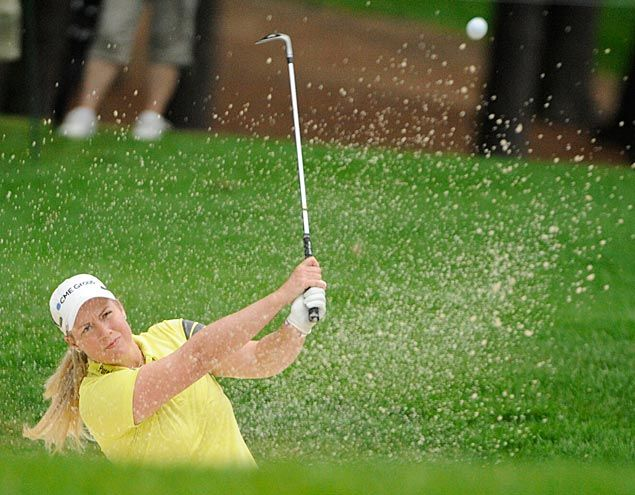 Brittanny Lincicome's lead in LPGA Championship down to one stroke