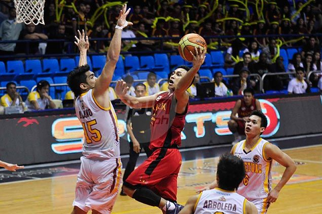 Mapua Cardinals sustain surprising resurgence, stun Perpetual Help Altas for third straight win