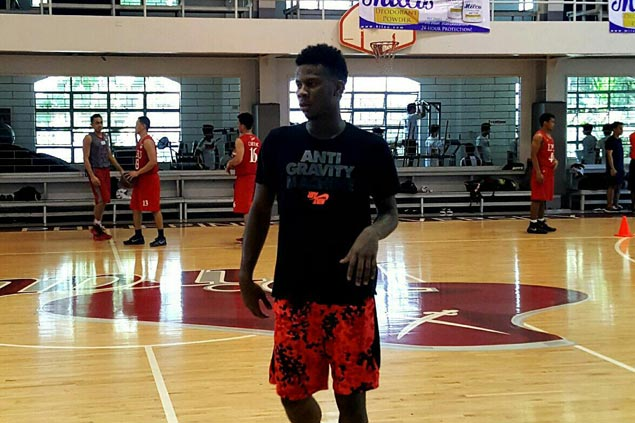 CJ Perez joins Lyceum Pirates practice for first time, prepares for NCAA return