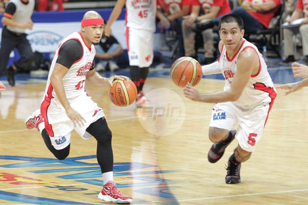 LA Tenorio admits shouting match in practice but denies any rift with Ginebra teammate Mark Caguioa