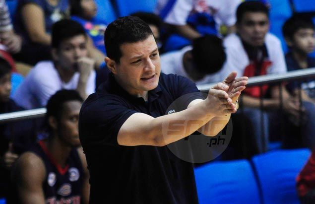 Letran coach Garcia blasts officiating, says crucial foul call hastened Knights' fall in rematch with Red Lions