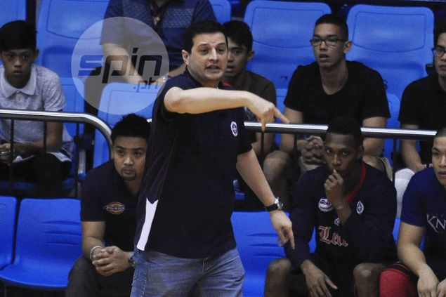 Letran Knights try to make up for lack of height with abundance of heart against tall Arellano Chiefs
