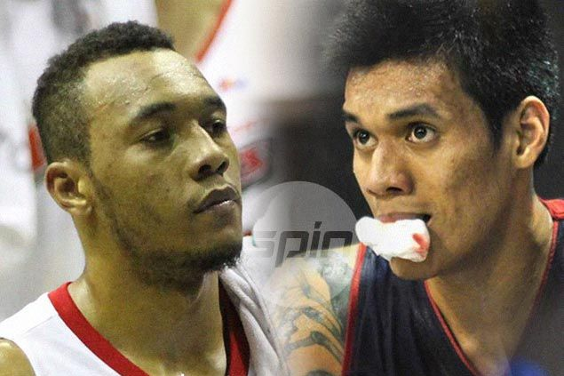 Almazan says old NCAA rival Calvin Abueva much tougher to play: 'Mas nag-iisip na s'ya ngayon'