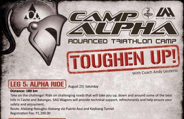 Toughen up for your future tri races through Unilab Active Health's Camp Alpha