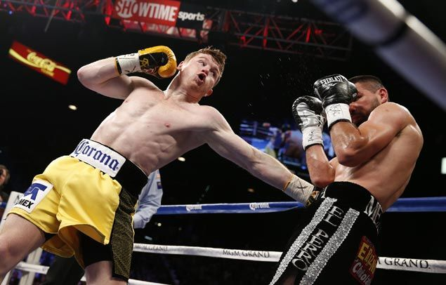 Amir Khan? When will Saul 'Canelo' Alvarez pick on somebody his size?