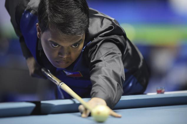 Carlo Biado tops 9-ball to claim Philippines' first gold medal at World Games