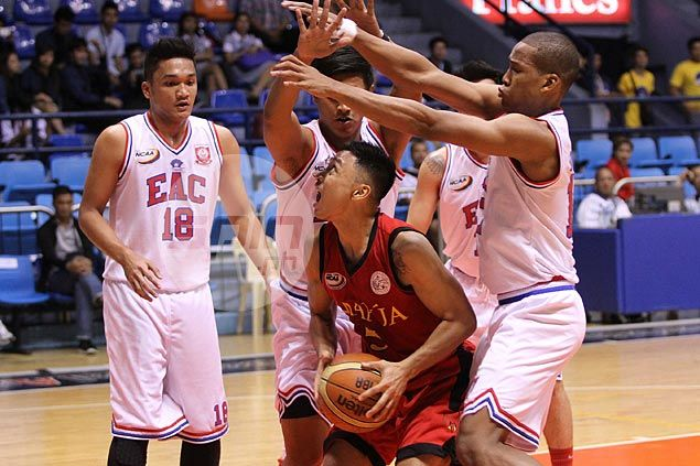 EAC Generals down hapless Mapua Cardinals behind collective effort to snap skid